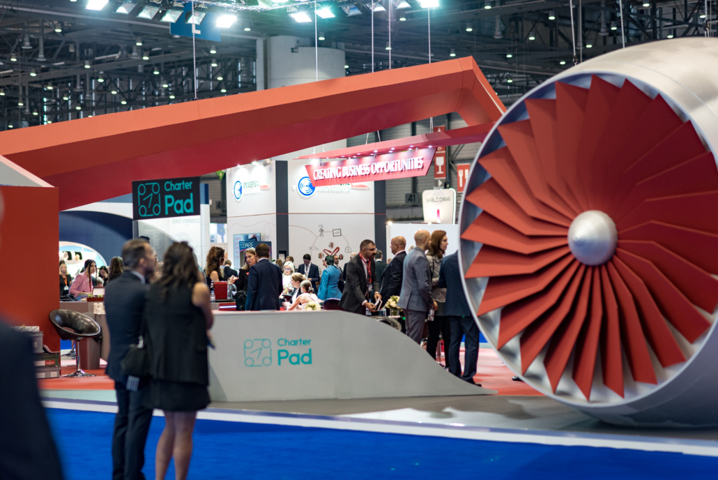 Building Connections at EBACE 2019 - Click Aviation Network